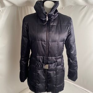 Laundry by Shelli Segal navy down puffer coat L